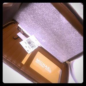 Michael Kors backpack and wallet bundle